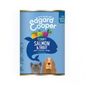 Edgard & Cooper Adult - Zalm & Forel - Blik 400 gr