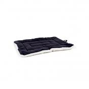 Ligkussen 'Cozy Duo' beige/zwart, 75x47 cm