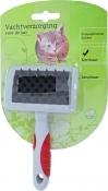Kattenborstel rubber massage borstel, small