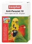 Anti parasiet 10 vogel
