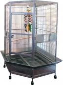 papegaaikooi Dahlia hamerslag grijs