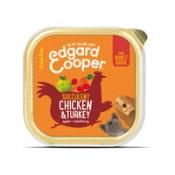 Edgard & Cooper Adult - Kip & Kalkoen - Kuipje 150 gr