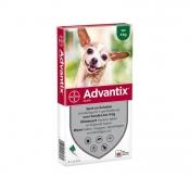 Advantix Spot-On 40/200 4 Pipetten Tot 4kg