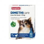 Beaphar Dimethicare Line-On Hond 6 Pipetten <15 kg