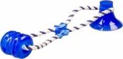 Duvo+ Tug 'n Chew Hondenspeelgoed 40x10,3x10,3cm Blauw